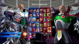 Marvel VS Capcom infinite :Sigma Gameplay/Tutorial
