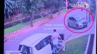 Polisi Rilis Rekaman CCTV Perampokan Pulomas
