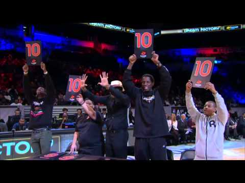 2015 Boost Mobile Nba D-league Slam Dunk Contest video