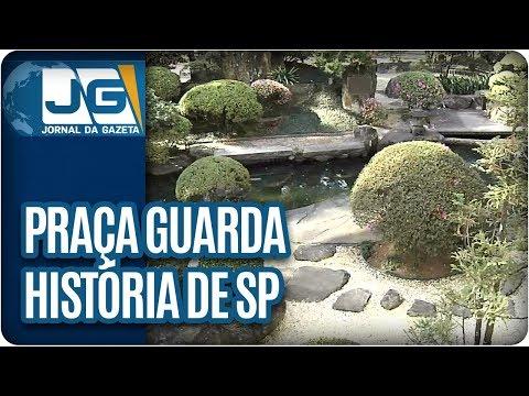Praça guarda história de São Paulo