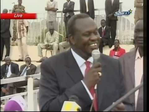 Deputy President of South Sudan denies a coup in the south, Riek Machar,