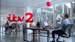 ITV2 2013 Ident: Office Fan Tennis | ITV