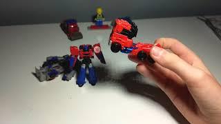 transformers Optimus prime comparison (legends only)