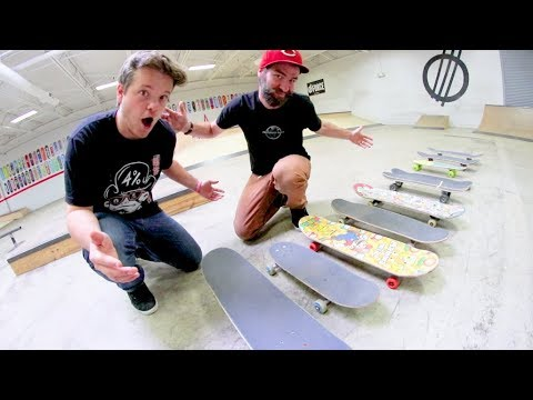 You Must Kickflip Every Skateboard / Fastest Wins!
