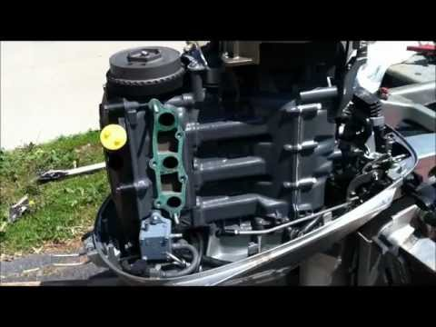 Honda 4 Stroke boat motor carb cleaning class