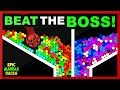 Beat the Boss Marble Race 2 - Who will survive