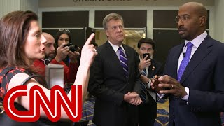 Woman confronts Van Jones at CPAC