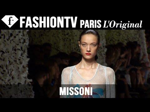 Missoni Spring summer 2015 First Look | Milan Fashion Week | Fashiontv video