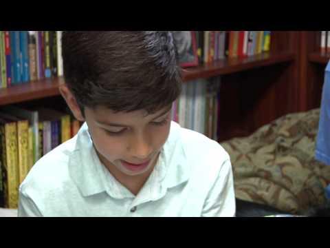 Kaxan visits Rawson Saunders School
