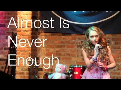 Ariana Grande - Almost Is Never Enough ft. Nathan Sykes - 11 year old Sapphire cover