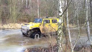 Hummer H2 in action II. Milovice CZ