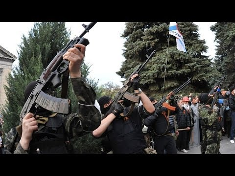 Report: civilians in Ukraine ready for civil war