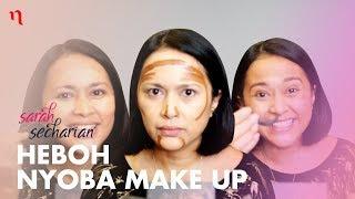 Nyoba Make Up ala Beauty Vlogger | Sarah Secharian