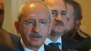 Kılıçdaroğlu'nun Demirtaş Ve Yüksekdağ Ile Görüşmesi Sonrası Yaptığı Açıklama