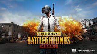 Playing sone Pubg on mobile! still learning about the game!