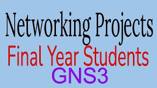 Networking Project using GNS3 Windows XP and windows7