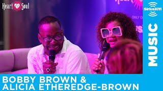Bobby Brown & Alicia Etheredge-Brown at Essence Fest 2019