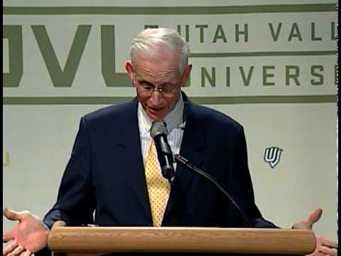 UVU: Richard Marriot - Executive Lecture Series Fall 2009