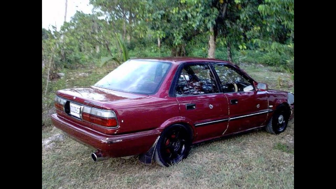 Toyota Corolla 1995 Car Show Youtube