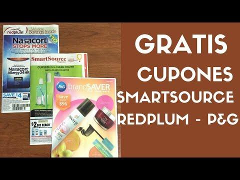 Gratis libros de cupones Smartsource, Redplum, P&G del mes Julio