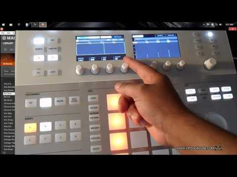 Maschine Studio / Maschine 2.0 How to use the Step Sequencer from Maschine Studio