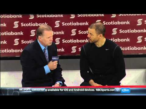 Jarome Iginla postgame interview May 22 2013 Pittsburgh Penguins vs Ottawa Senators NHL Hockey