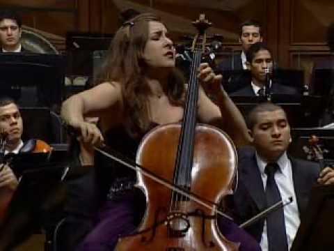 Part 1/6 - Alisa Weilerstein, Gustavo Dudamel, Simón Bolívar Orch. - Dvořák Cello Concerto
