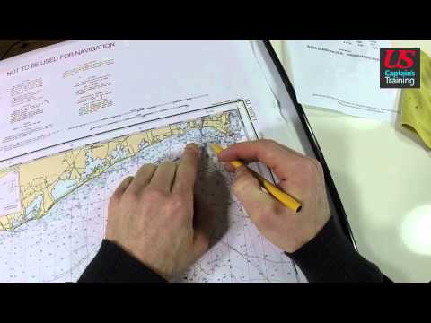 Captain License Chart Navigation – Estimated Time of Arrival Practice Problem 2