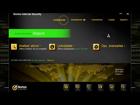 Norton Internet Security 2012 // Actualizacion Reciente Abril//  Full Español