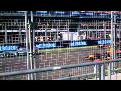 Start of the Melbourne Formula 1 Grand Prix 18 March 2012