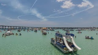 Destin Florida July 2019 - Epic Aerial Footage of The Emerald Coast