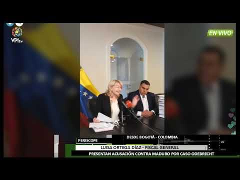 Colombia - Luisa Ortega Díaz consigna pruebas de corrupción al TSJ en el exilio - VPItv
