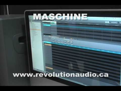 MASCHINE - NEW 808 MPC Style Groovebox from Native Instruments Review
