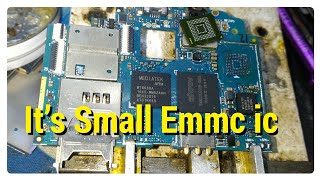First Time Working China Mobile Phone Small Emmc ic
