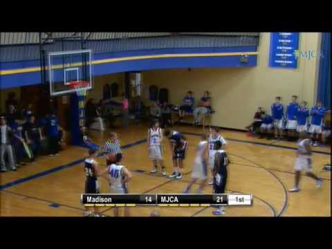 Boys Basketball- MJCA vs. Madison Academy - 12/12/2012