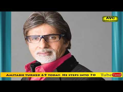Amitabh completes 69 and steps into 70