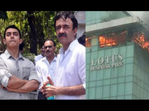 Fire Mishap While Working On Aamir Khans P K  | Hot Bollywood...