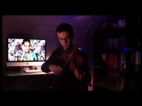 Alicia Keys - Girl On Fire (Violin Cover) klip izle