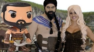 Game of Thrones Toys! POP Khal and Khaleesi Wedding Figures Unboxing! Toys Ahoy Ep. 4