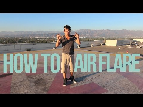 How to Breakdance | Air Flare | Dominic