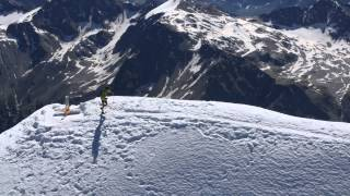 Solda - Ortles record attempt - Marco De Gasperi