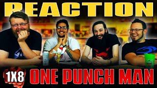 """One Punch Man 1x8 REACTION!! """"The Deep Sea King"""""""