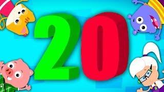 Numbers Song 1 To 20   Learn Numbers   Baby Songs   Nursery Rhymes