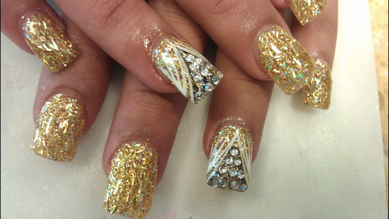 Genx Golden Nails Shaping Part