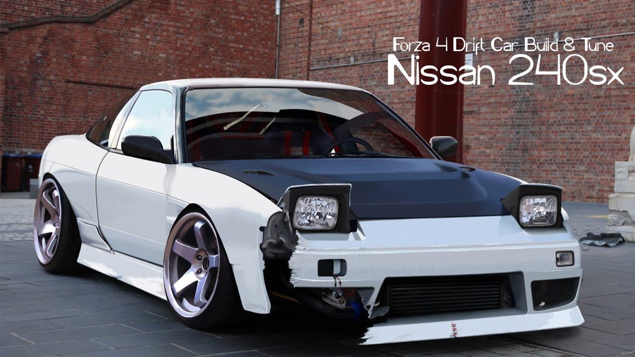 Forza 4 Drift Car Building Amp Tuning 3 Nissan 240sx