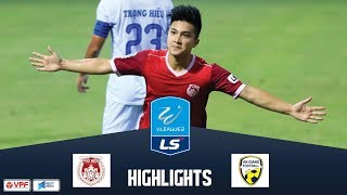 Cú đúp của Martin Lò giúp Phố Hiến giành điểm trước An Giang | Vòng 6 hạng nhất LS 2019 | VPF Media