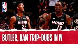 Butler, Bam BOTH Earn Triple-Doubles!
