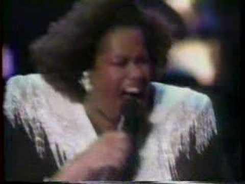 Jennifer Holliday singing