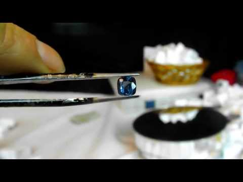 1.03ct Sri Lankan Blue Spinel video