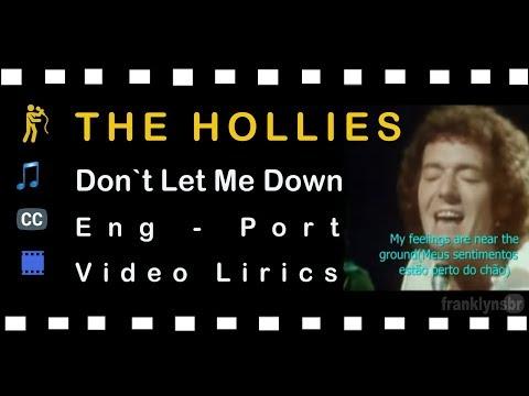 The Hollies -  Don't let me down Legendado